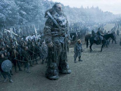 Escena del capítulo 'La batalla de los bastardos' de Juego de tronos.