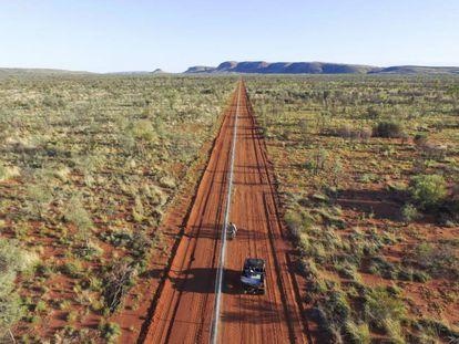 La valla construida en Australia para proteger a los marsupiales.