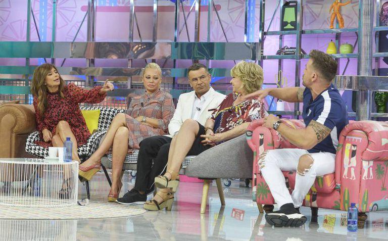 Imagen de archivo de Jorge Javier Vázquez junto a Belén Esteban en el programa 'Sálvame'.