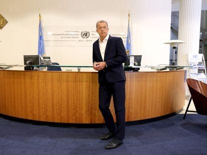Serge Brammertz, fiscal del Mecanismo Residual Internacional de los Tribunales Penales