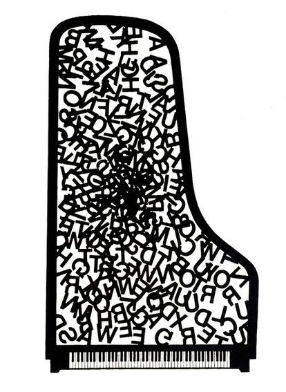 Poema visual (1982) de Joan Brossa.