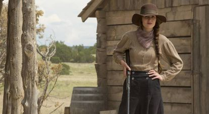 Miehelle Dockery, featured in the miniseries 'Godless'.
