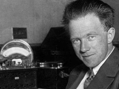 Werner Heisenberg en 1933, un año después de ganar el Premio Nobel de Física.