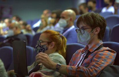 Image of the VI Spanish Congress of Informatics held in Malaga.