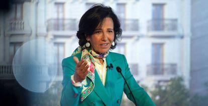Presidenta del Banco Santander, Ana Botín.