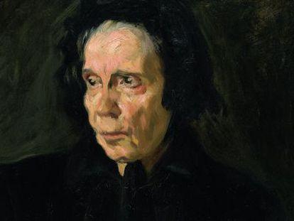 'Retrato de la tía Pepa', de Picasso.