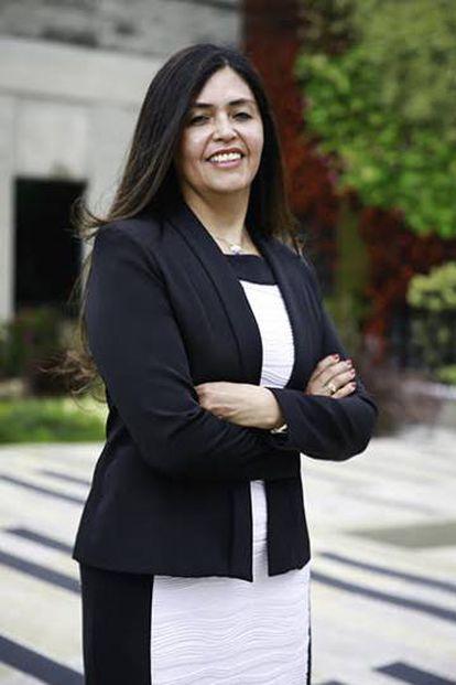 Claudia García, directora del Instituto de Medicina Legal colombiano.