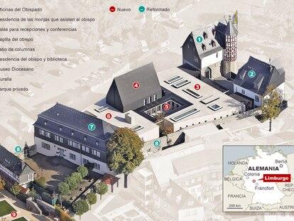Fuentes: Obispado de Limburgo y Der Spiegel.