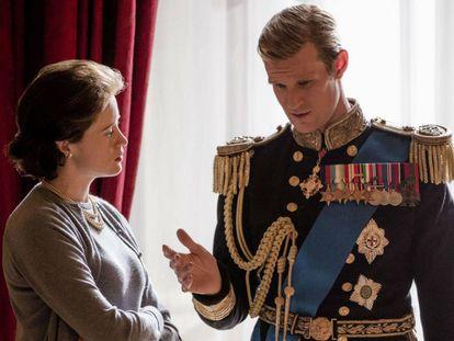 Los productores de 'The Crown' piden disculpas a Claire Foy y Matt Smith por la polémica de los sueldos