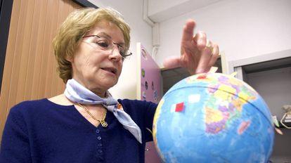 La científica francesa Anny Cazenave.