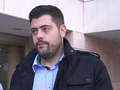El exsecretario general de las juventudes socialistas de Elche, Alejandro Díaz.