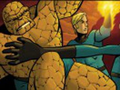 La exposición  Superhéroes con Ñ  reúne los dibujos de 47 autores españoles en el cómic estadounidense