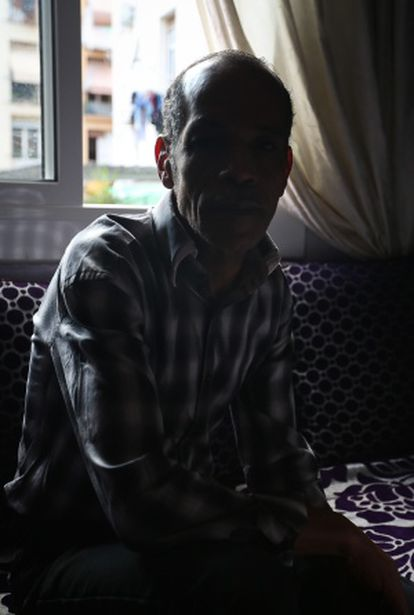 El Yazid A. en su casa.