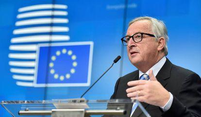 El presidente de la Comisión Europea, Jean-Claude Juncker, el 14 de diciembre de 2018.