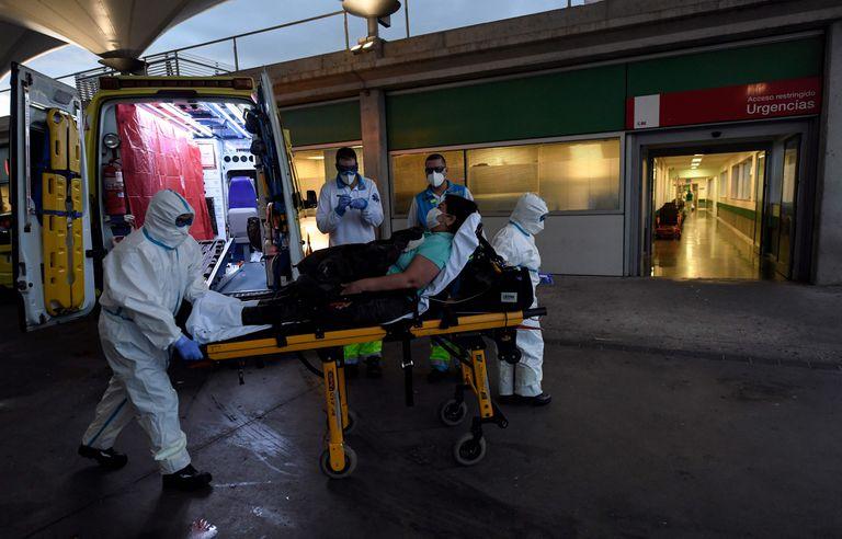 El hospital Infanta Leonor, el pasado 19 de abril.
