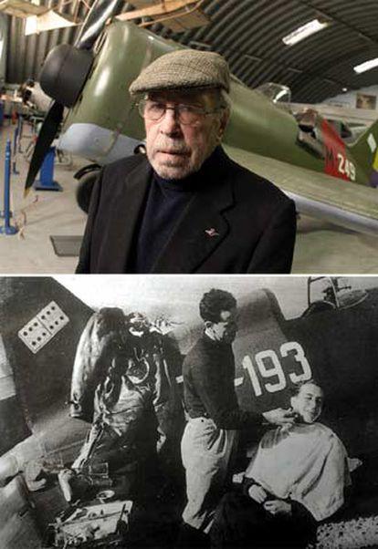 Bravo, junto al Mosca restaurado y, con 21 años, en la Guerra Civil.