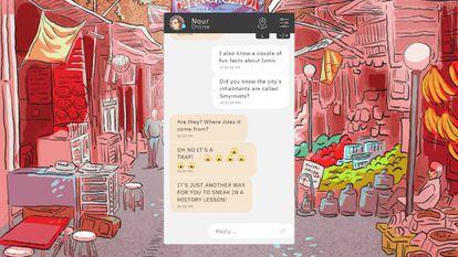 Representación del videojuego 'Entiérrame, mi amor'.