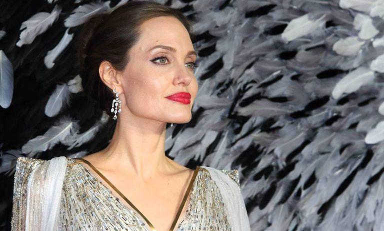 Angelina Jolie, en el estreno de 'Maléfica, en Londres, en octubre.