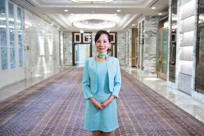 Jane Sun es, pese a su juventud, una de las mujeres más poderosas de la segunda economía del mundo