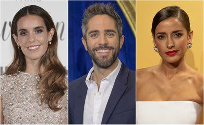 Ona Carbonell, Roberto Leal e Inma Cuesta.