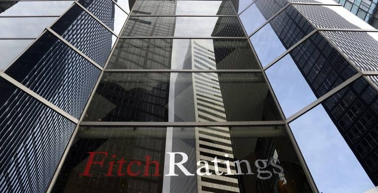Vista exterior de las oficinas de Fitch Ratings en Nueva York (EE UU)
