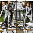 'Bagged', de Gilbert & George.