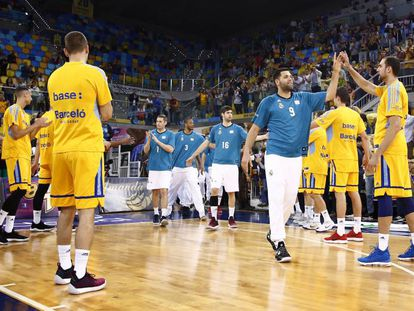 El Gran Canaria hace pasillo al Madrid