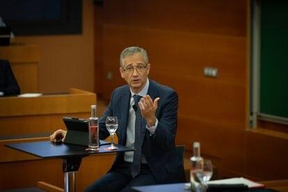 El gobernador del Banco de España, Pablo Hernandez de Cos.