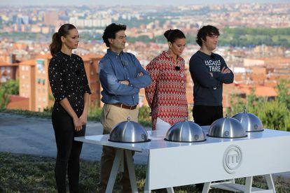 Los jueces de 'MasterChef Celebrity' en un programa de la última temporada.