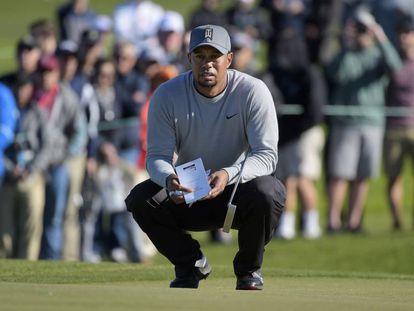 Tiger Woods, en enero pasado en San Diego.