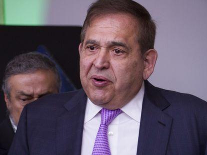 Alonso Ancira, Presidente del Consejo de Administración de Altos Hornos de México, el 23 de mayo de 2019.