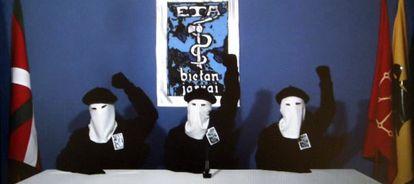 Imagen del diario Gara en el que se publicaba el comunicado de cese de la violencia de ETA.