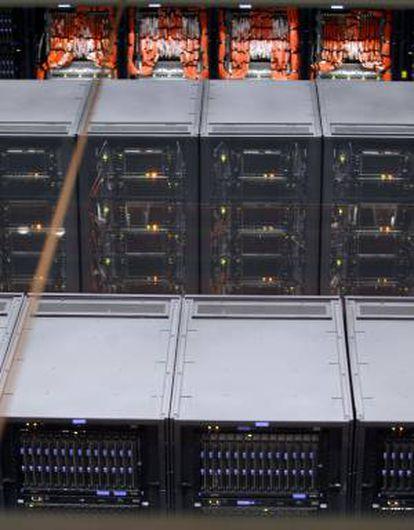Vista de la sala del ordenador MareNostrum. EFE/Archivo