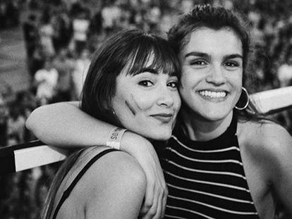 Aitana Ocaña y Amaia Romero el pasado 8 de julio.