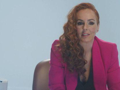 Rocío Carrasco, en un instante de 'Rocío: Contar la verdad para seguir viva'.