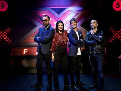 El jurado de 'Factor X'.