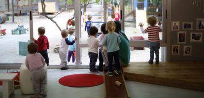 Aula de la escuela infantil El Alba.