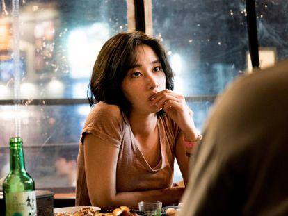 Jeon Jong-seo, en 'Burning'.