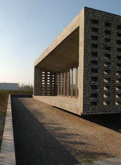 <i> Ceramic House,</i> en el parque Jinhua, en China.
