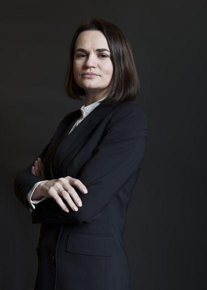 Svetlana Tijanóvskaya, retratada durante una visita a Madrid.