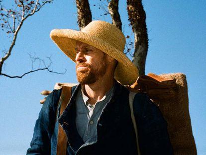 Willem Dafoe, como Vincent Van Gogh.