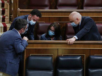 Imagen del pleno del Congreso de los Diputados este miércoles.