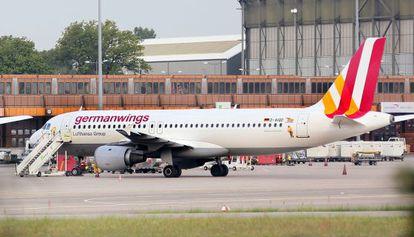 Un A320 de Germanwings, el mismo modelo que el avión siniestrado.