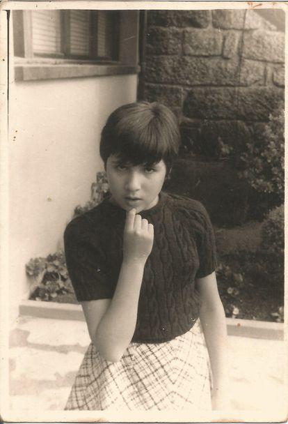 La poeta, en 1969.
