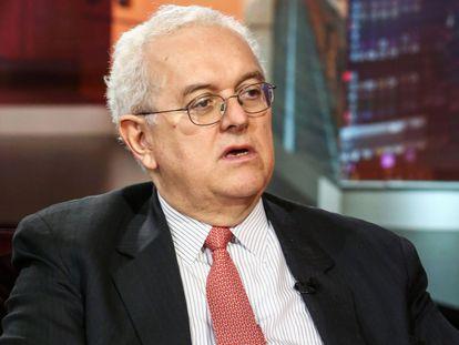 Jose Antonio Ocampo, durante una entrevista en Bloomberg Television.