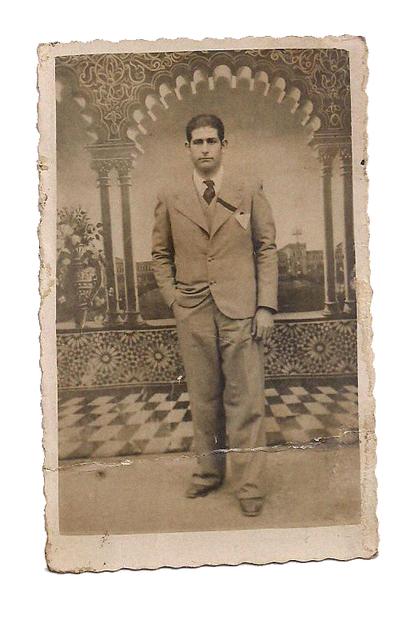 Ricardo García Navarro, repoublicano fusilado el 8 de marzo de 1940 en Paterna, Valencia.