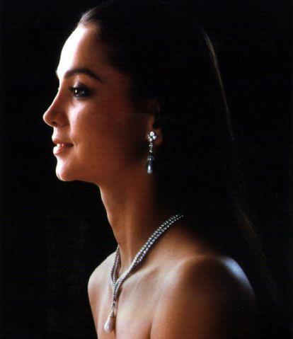 Una joven Isabel Preysler en 1996.