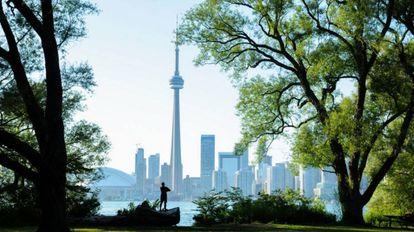 La Torre Nacional de Canadá, símbolo de Toronto.