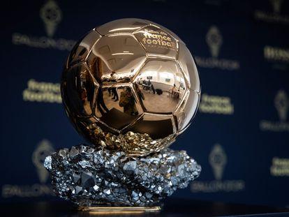 Imagen de archivo del Balón de Oro. THOMAS SAMSON (AFP)
