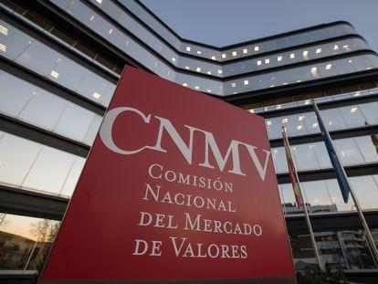 Sede de la CNMV en Madrid.